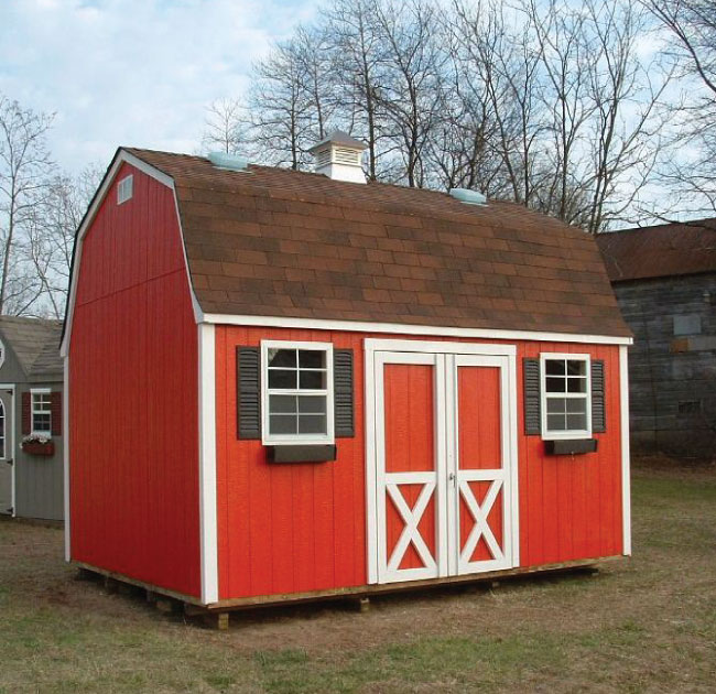 Wood sheds american sheds for American barns prices