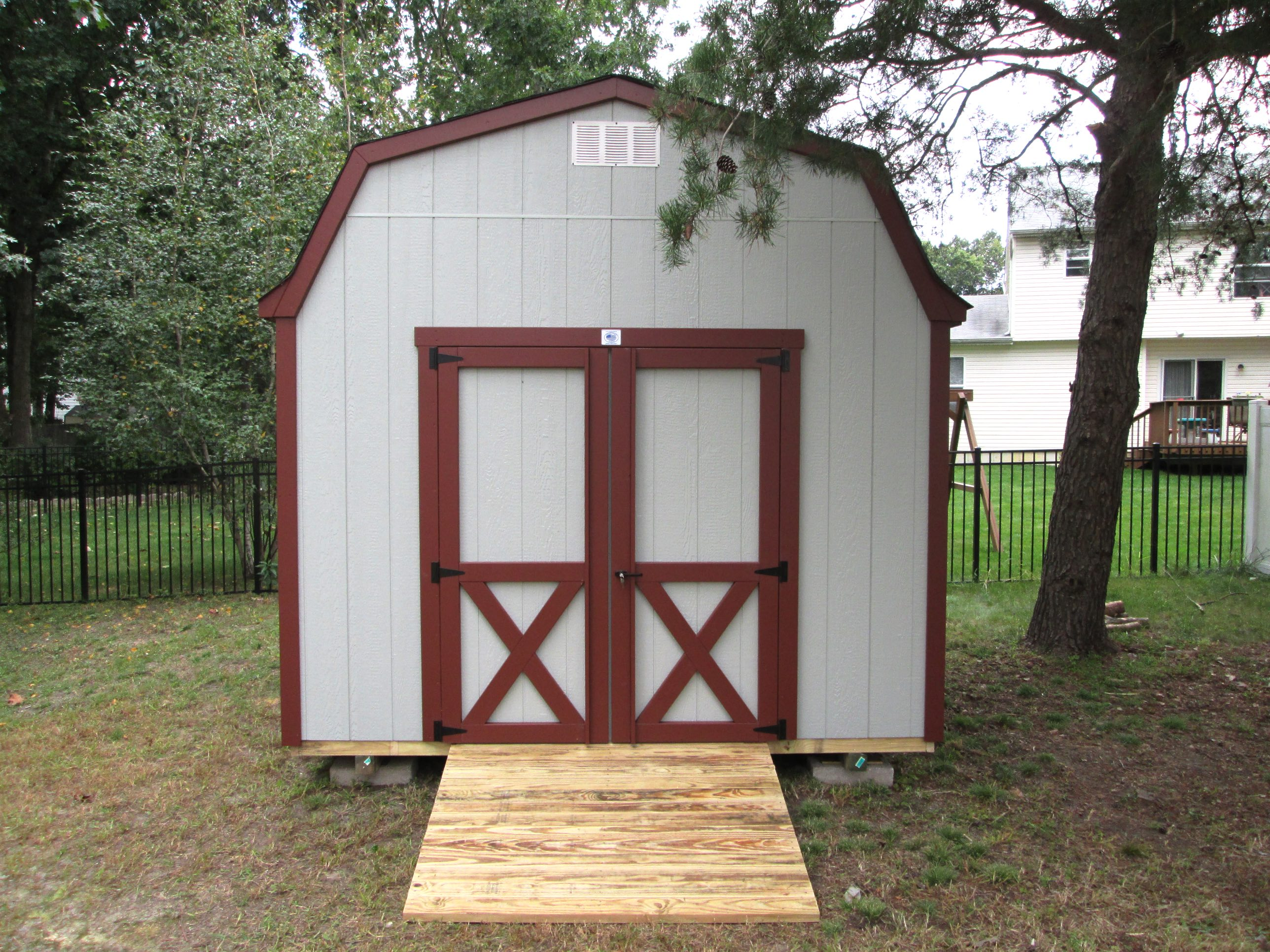 premier barns storage of backyard the best amish red nj for sheds outdoor and built cabinets